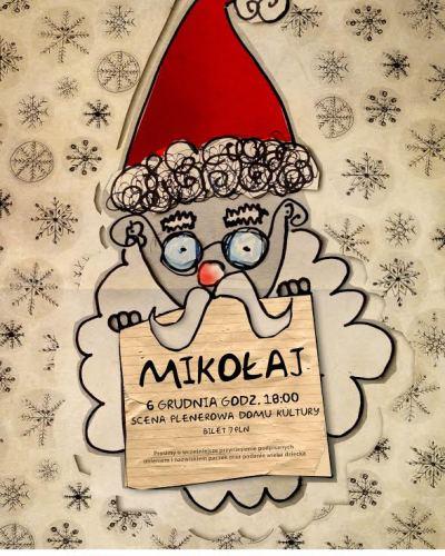 Mikołaj zbliża się do żorskiego MOKu wielkimi krokami!