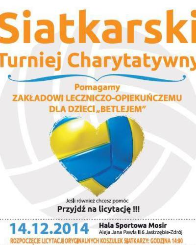 Siatkarski turniej charytatywny