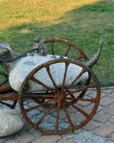 Wystawa na Rynku Żor: Plenerowe rzeźby Michała Batkiewicza fot. Piotr Mularczyk