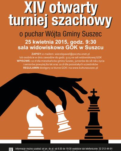 XIV Turniej Szachowy w Suszcu
