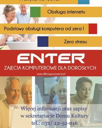 Zajęcia komputerowe dla Seniorów w Boguszowicach