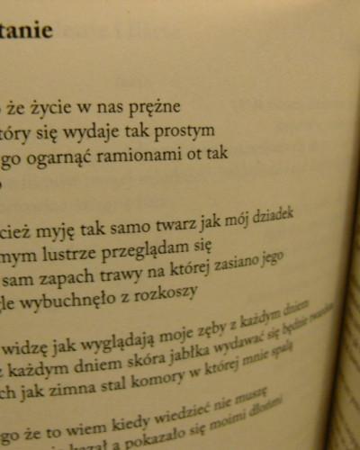 """Piotr Tenczyk: """"Wiersze o ludziach"""""""