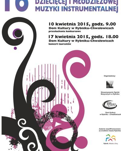 XVI Festiwal Dziecięcej i Młodzieżowej Muzyki Instrumentalnej