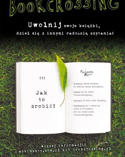 BOOKCROSSING, czyli uwolnij swoje książki, dziel się z innymi radością czytania!