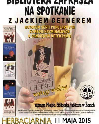 Spotkanie autorskie z Jackiem Getnerem