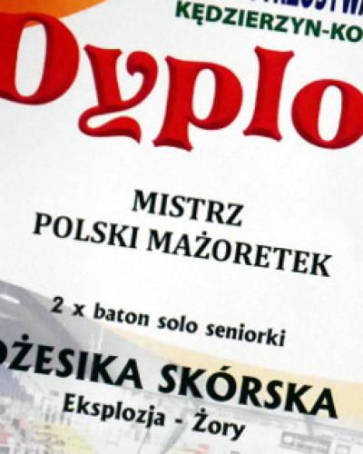 Mażoretki nagrodzone wielokrotnie na Mistrzostwach Polski