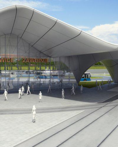 Budowa węzłów przesiadkowych w Katowicach