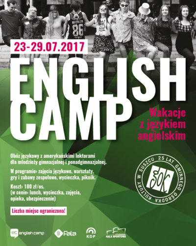 ENGLISH CAMP JUŻ W WAKACJE!