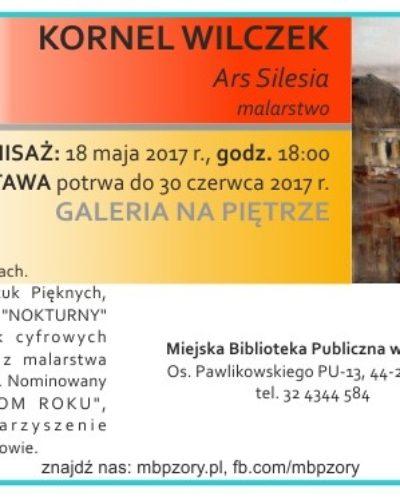 Wernisaż wystawy malarskiej w Żorach