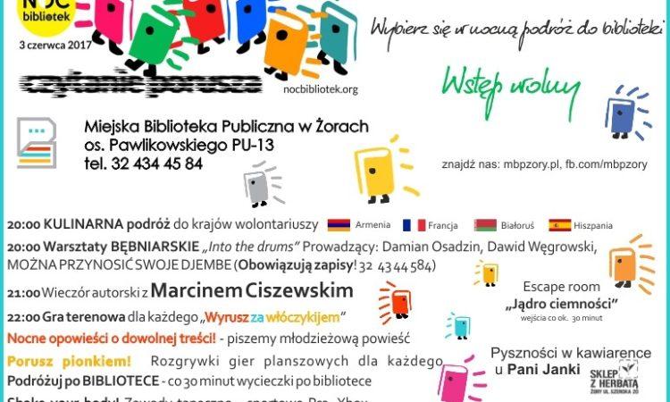 Noc biblioteki w Żorach