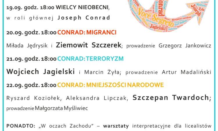 Tydzień z Conradem 18.-23.09.2017r. w Miejskiej Bibliotece Publicznej w Żorach