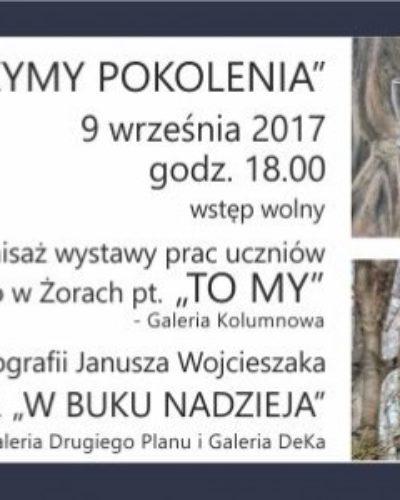 """Wieczór sztuk """"Łączymy pokolenia"""" w Chwałowicach"""