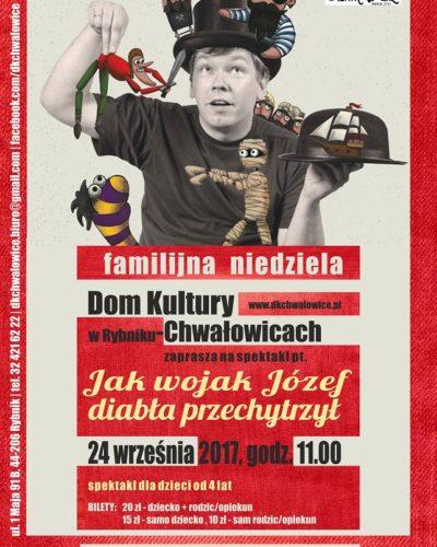 Teatr Lalek 24 września w domu kultury Chwałowice