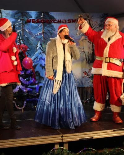 Mikołaj odwiedził żorski rynek