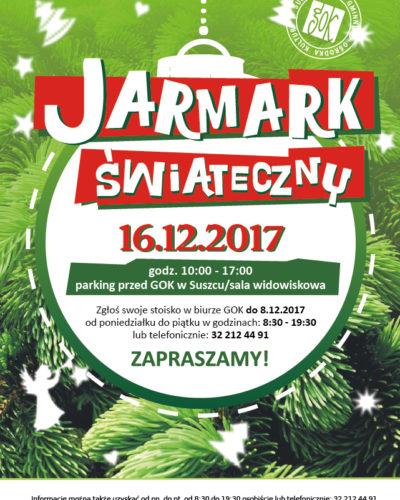 Jarmark Bożonarodzeniowy w Suszcu