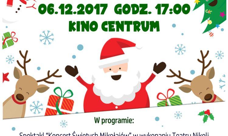 Mikołaj w Kinie Centrum w Jastrzębiu-Zdroju